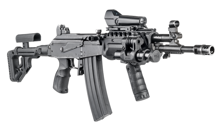 Mounting Optics to the Galil | The Hebrew Hammer