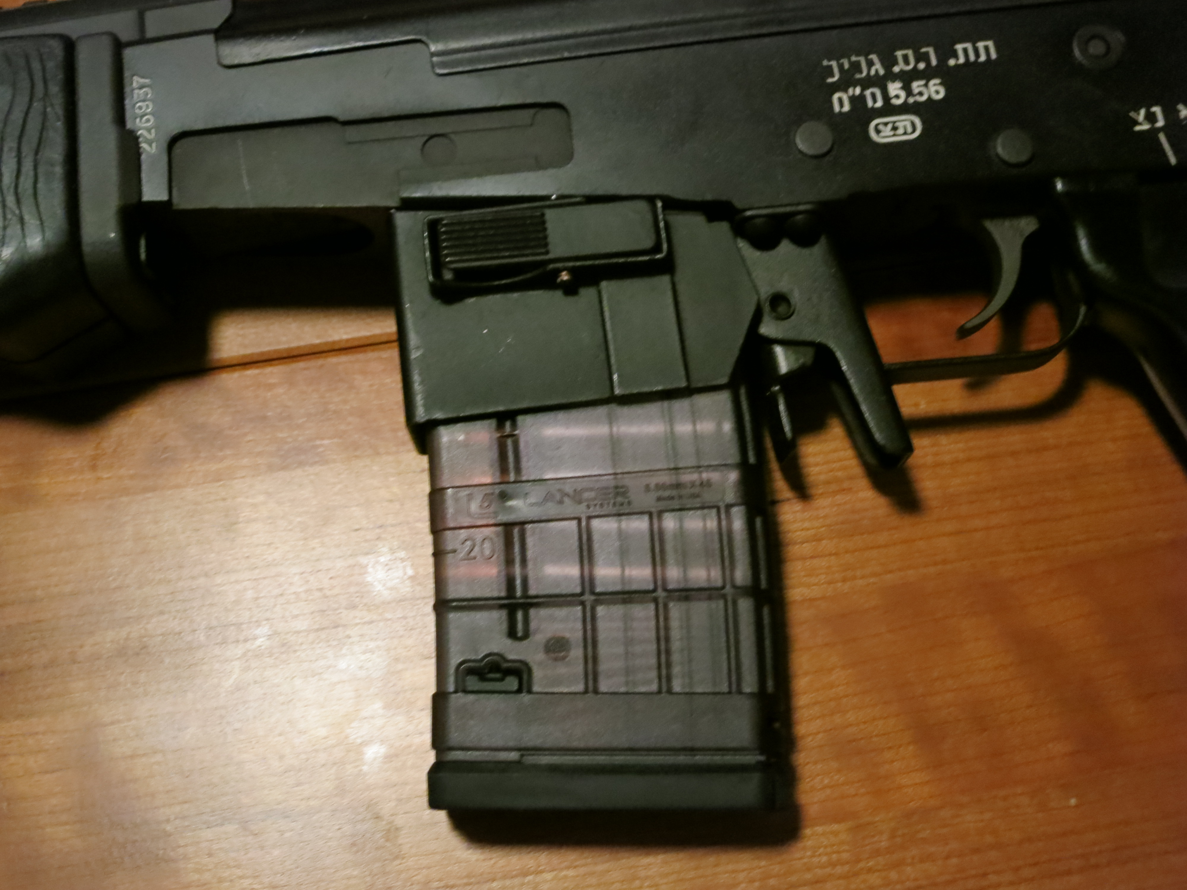 Using AR-15 mags in the Galil   The Hebrew Hammer