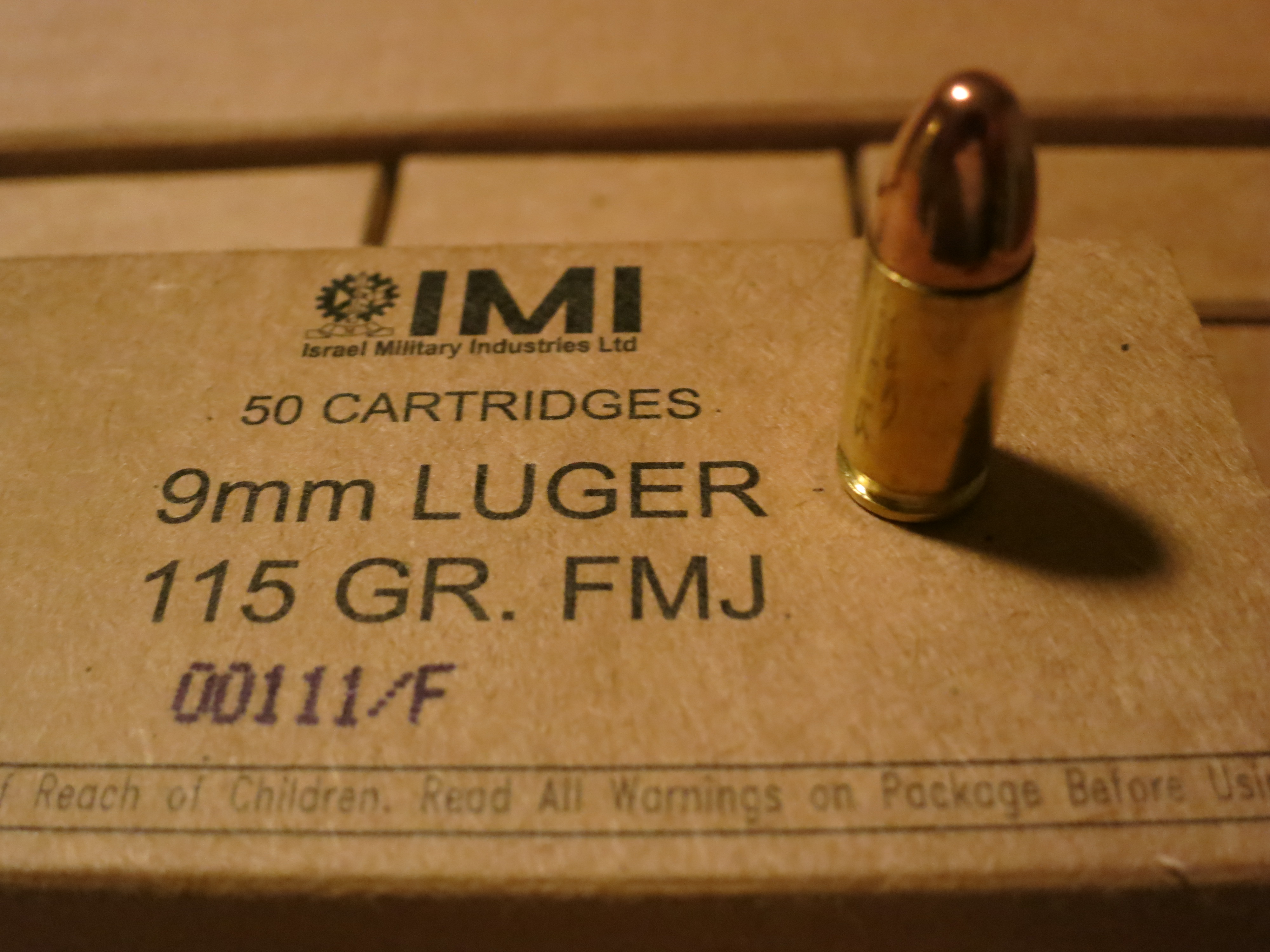 IMI 115gr 9x19 FMJ And EX STAR Ammo Review